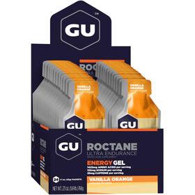 GU Energy Caja Geles Energéticos Roctane 24x32g, Vanilla Orange